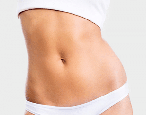 Tummy Tuck White Underwear